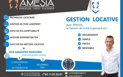 AMESIA met en place un nouveau service de Gestion Locative